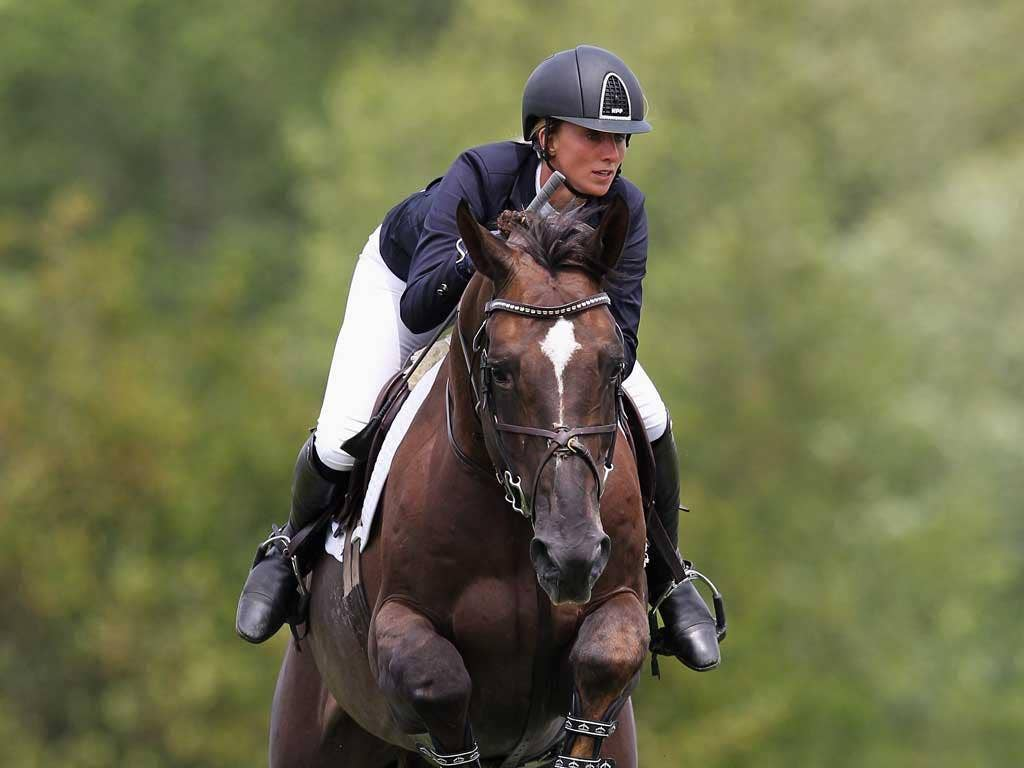 Sussex rider Louise Pavitt (pictured) again displayed her quality partnership with Don VHPZ. Their time yesterday was fast enough for first, but one fence down relegated them to fifth