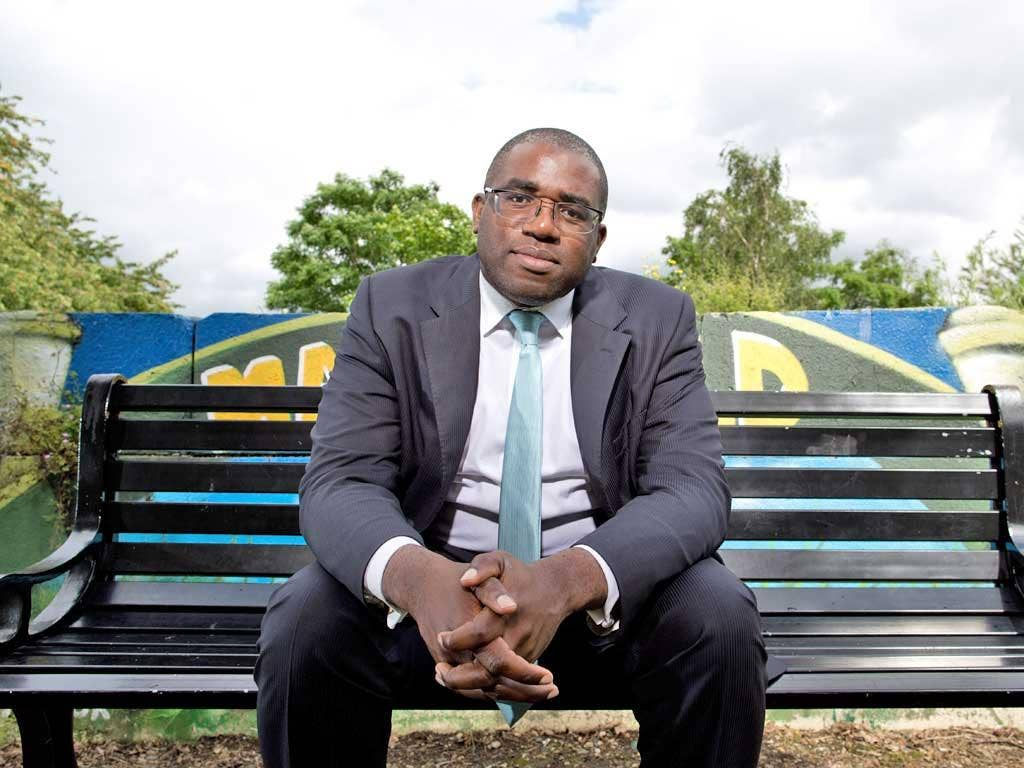 David Lammy says a failure of parenting has created a 'fractured, anonymous and invididualistic society'
