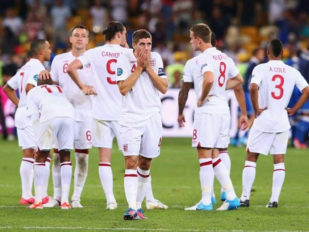 Steven Gerrard's flashes of quality were nowhere near enough for England