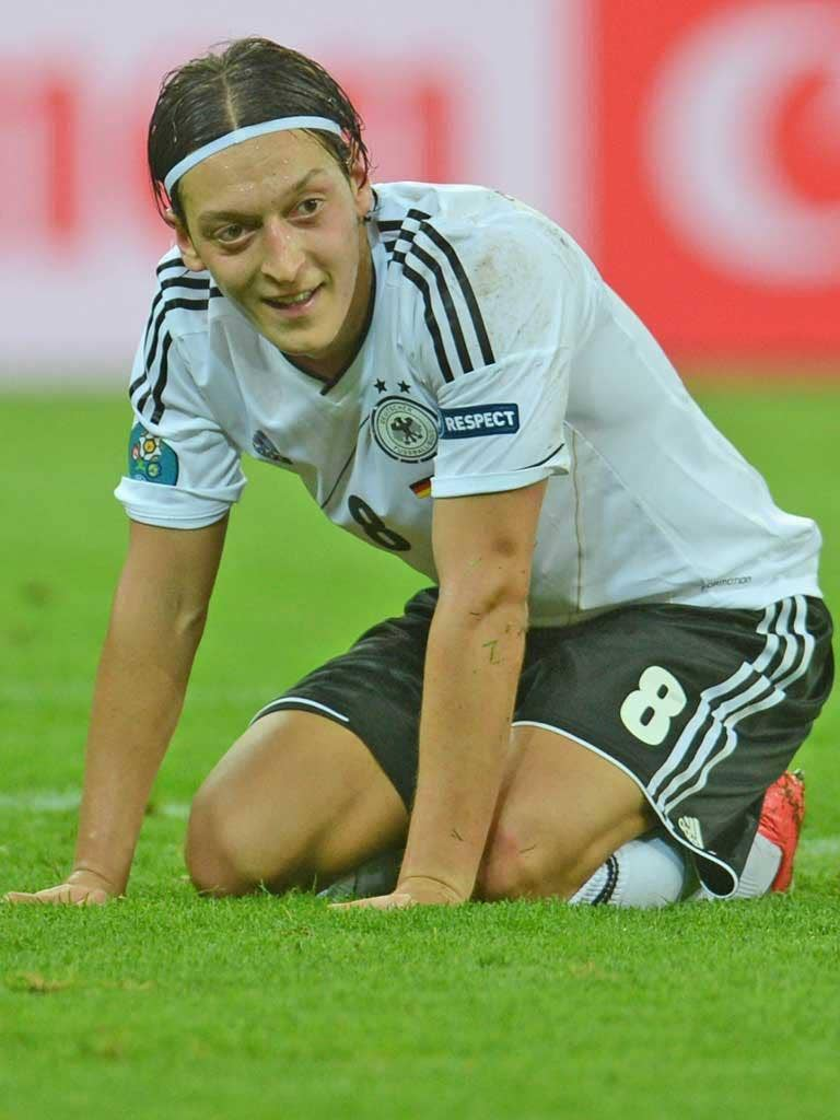 Mesut Ozil has been a key man for Germany