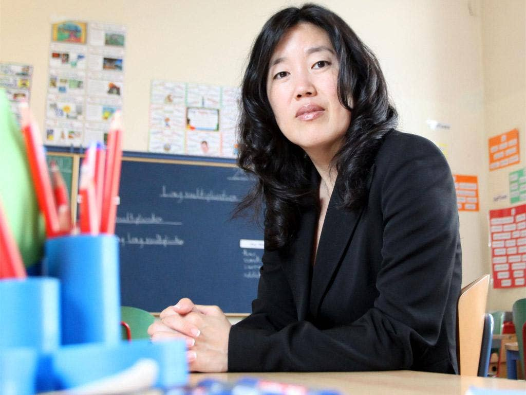 Michael Gove says Michelle Rhee's radical ideas about teachers should be adopted here