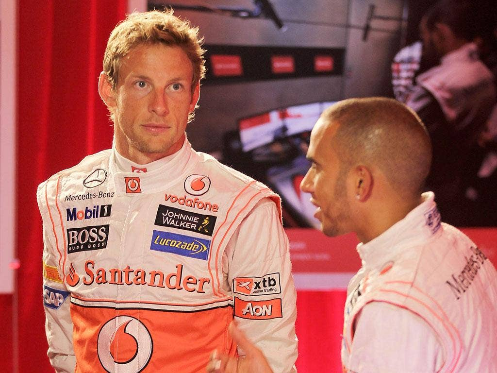 Lewis Hamilton and Jenson Button are said to have been immersed in this project
