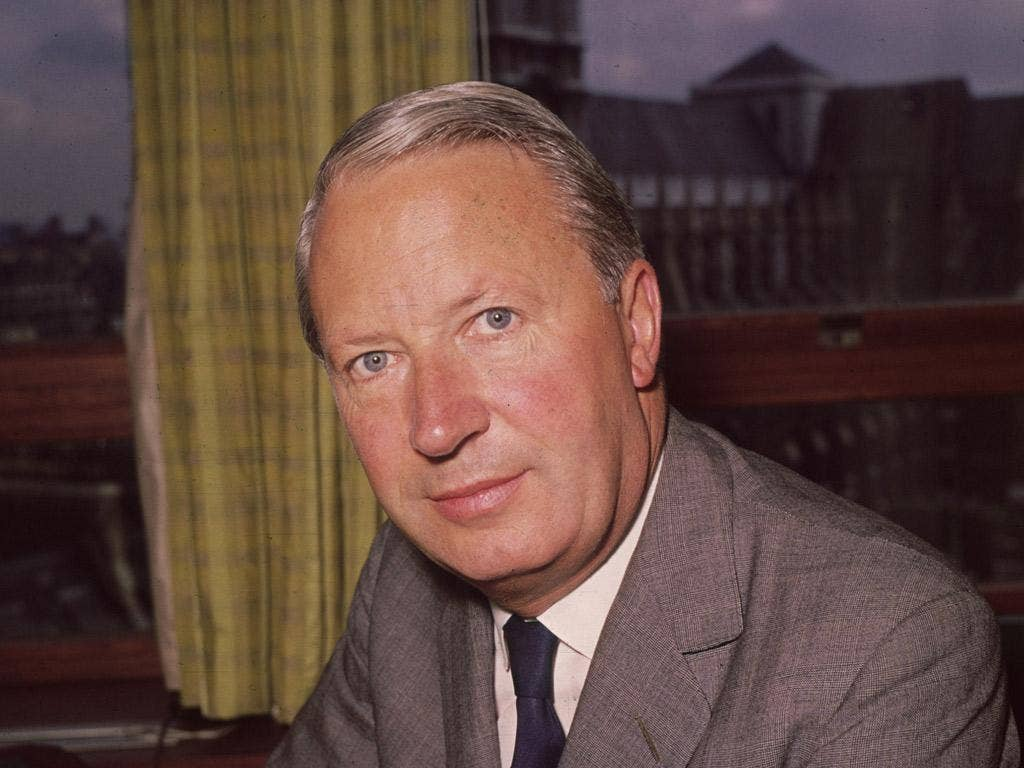 Edward Heath in 1964. Right-wingers considered him too radical