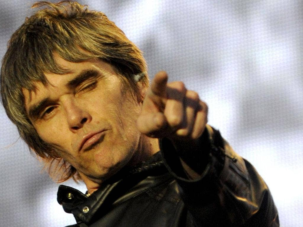 'We've still got it,' declares Ian Brown last night in Manchester