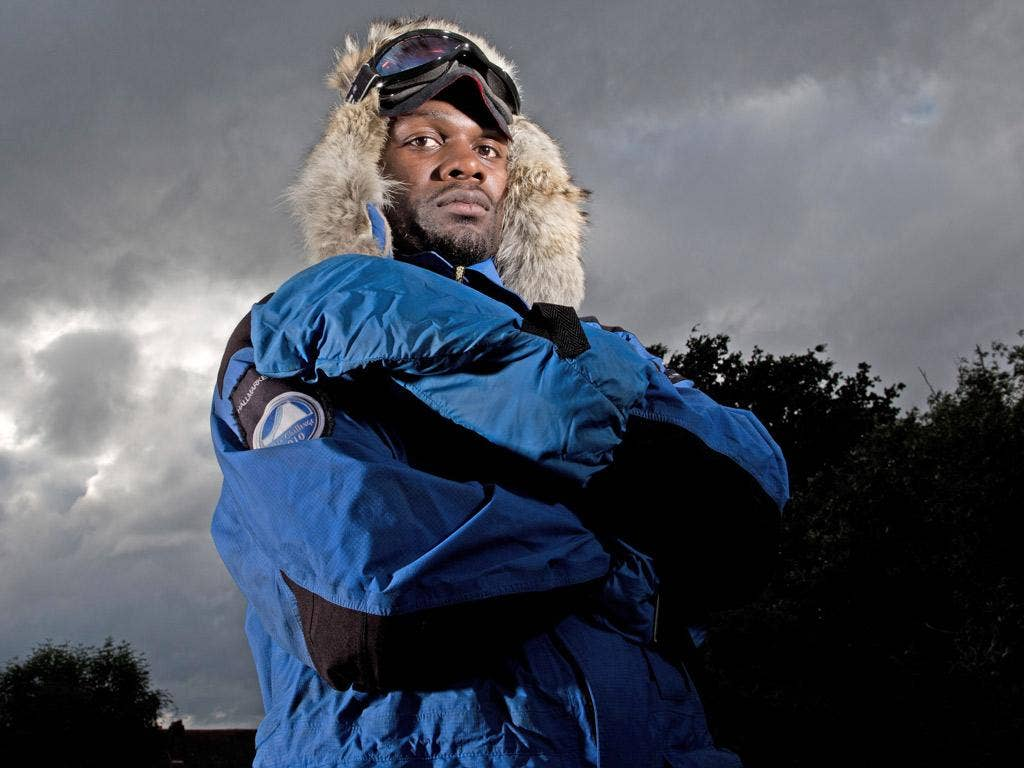 Dwayne Fields is attempting to reach the South Pole in November