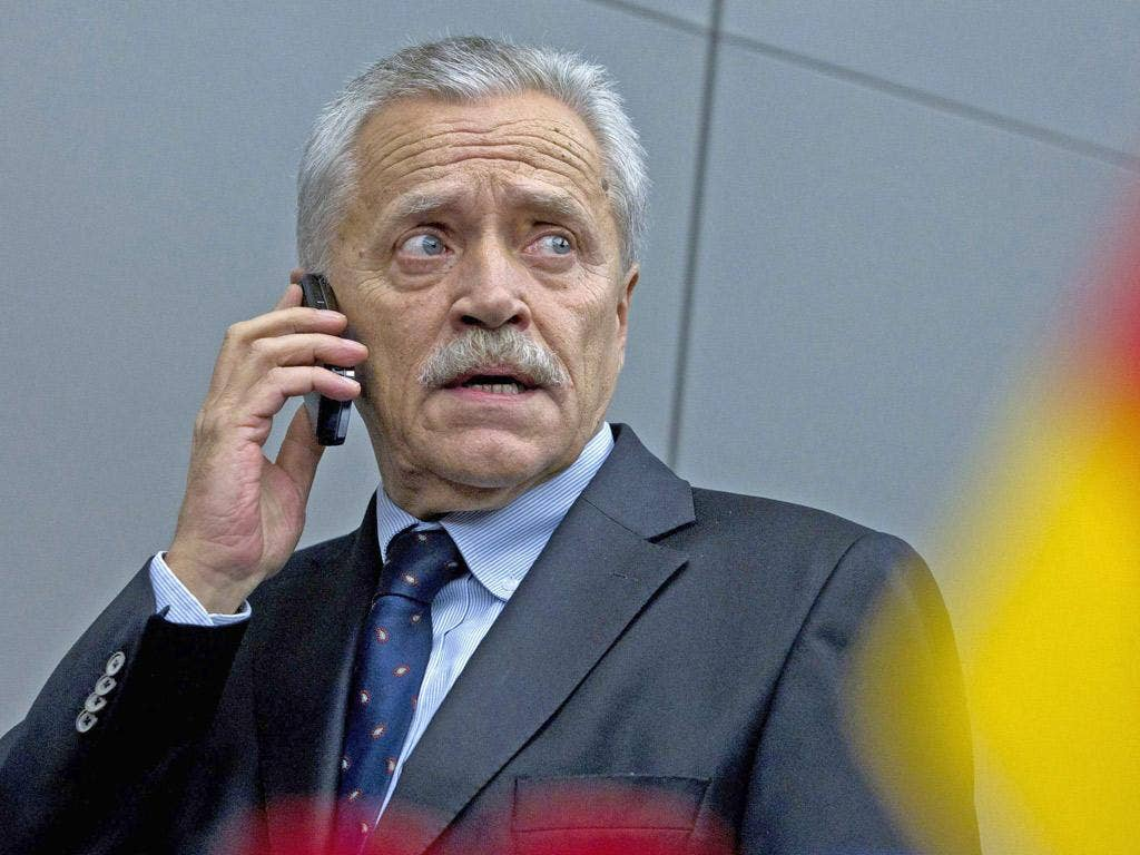 Heinz Fromm: The intelligence chief described the scandal as a 'major breach of trust'