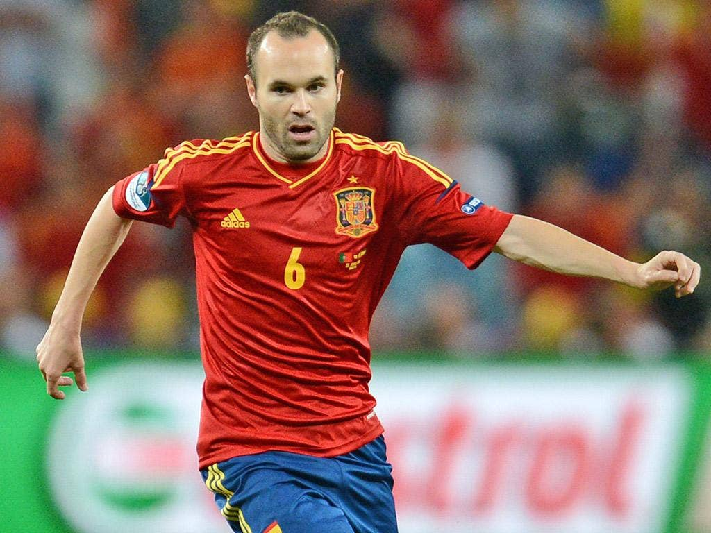 Andres Iniesta: The best big-game player of his generation and arguably the most watchable too