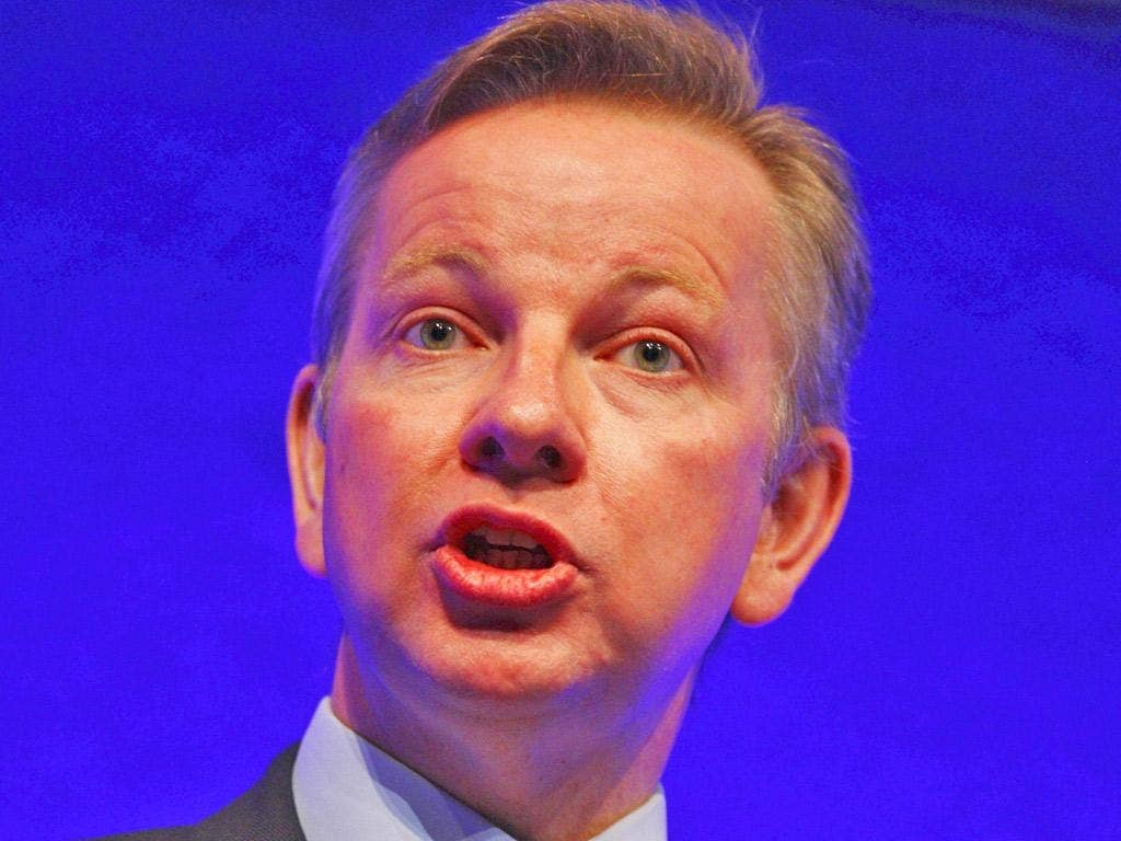 Michael Gove: The Education Secretary favours a single exam boar