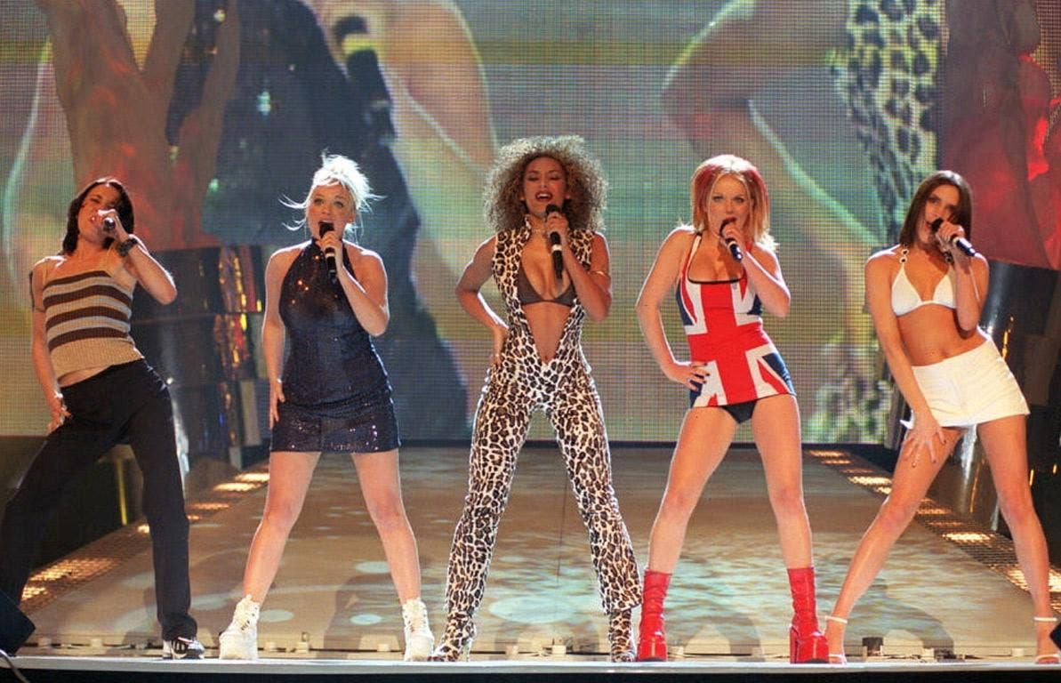 The Spice Girls' feminism consisted of shouting 'girl power' and doing peace signs in latex catsuits