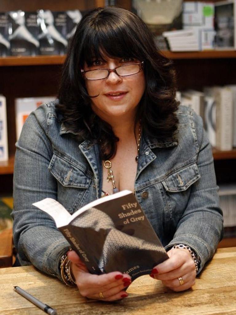 EL James revealed real-life secrets to her readers