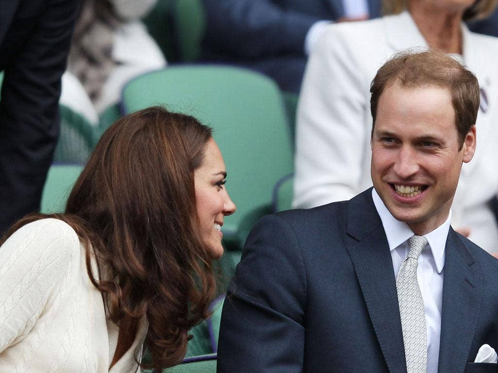 Catherine, Duchess of Cambridge and Prince William, Duke of Cambridge, were perhaps the star attraction of Wimbledon 2012.