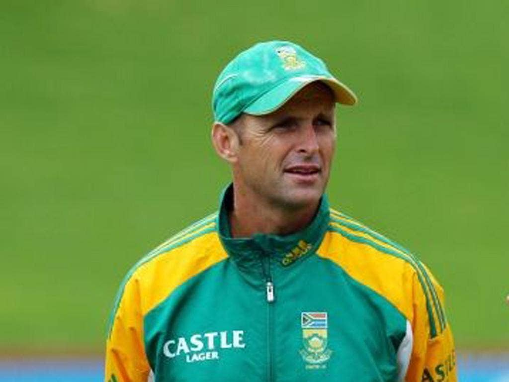 Gary Kirsten is readying South Africa in the Swiss mountains