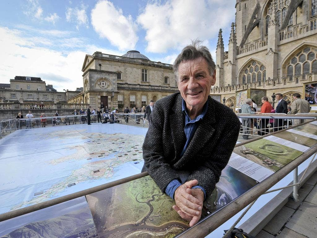 Michael Palin who says that children should go on geography field trips