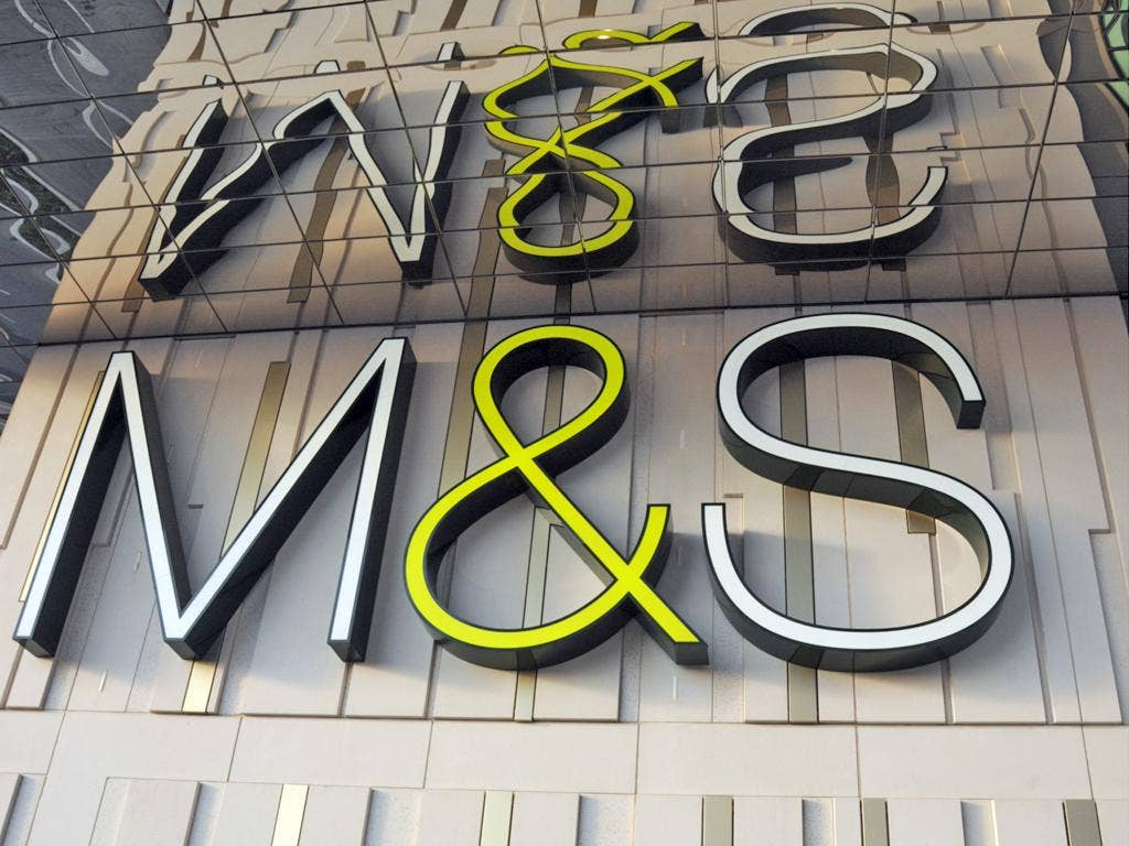 The clothing division has been blamed for Marks & Spencer's declining sales