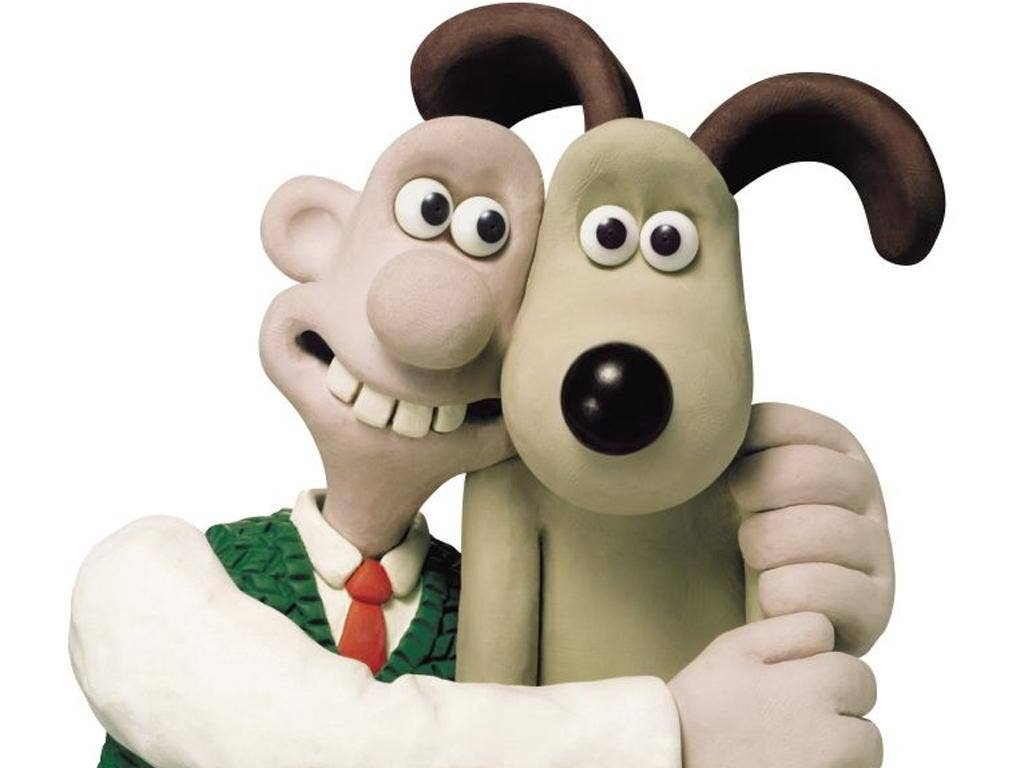 Wallace and his wonderfully expressive assistant, Gromit