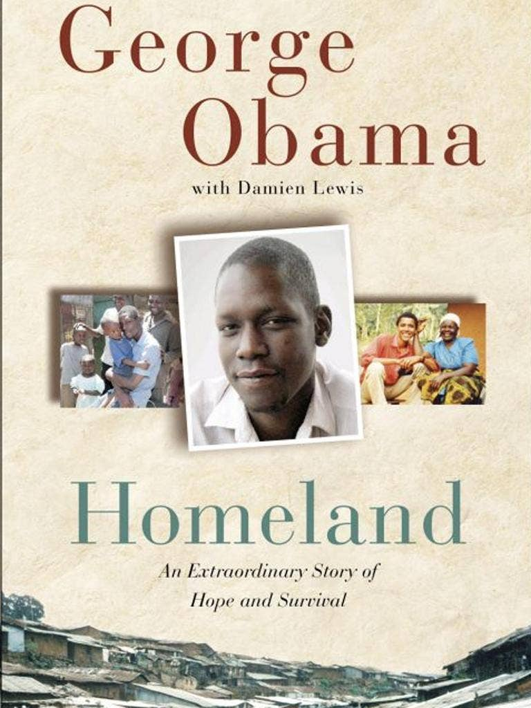 The President's half-brother wrote a book about his life, published in 2010