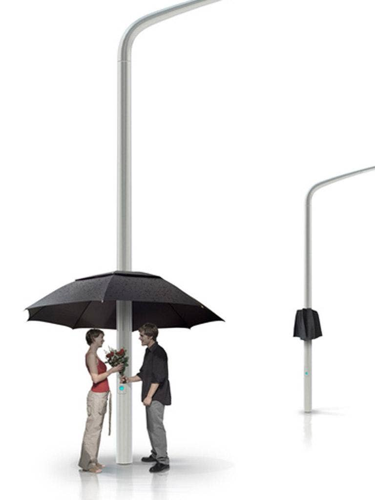 A brolly good idea: the Lampbrella