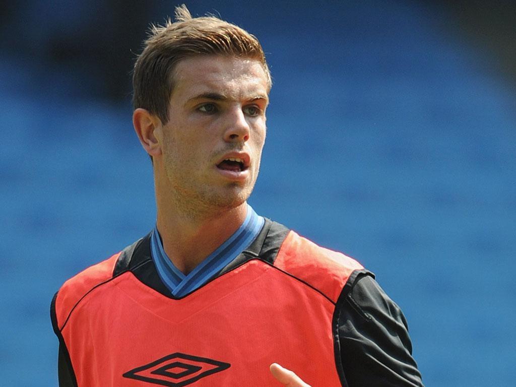 Jordan Henderson: The 21-year-old midfielder has 'an incredible attitude', claims Brendan Rodgers