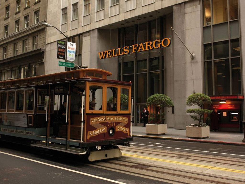 Wells Fargo has its headquarters in San Francisco