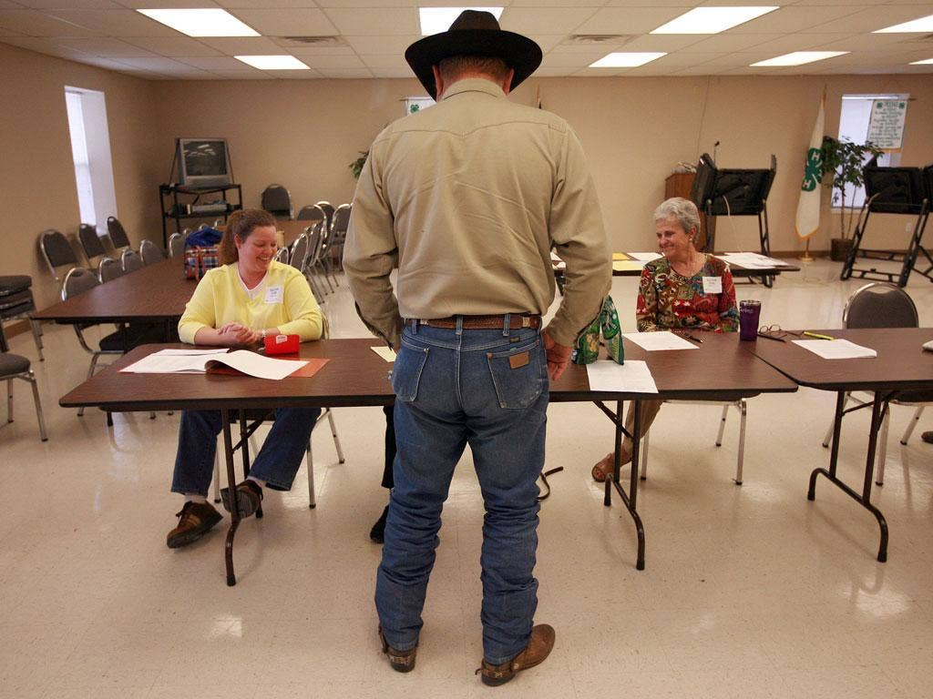 Free and easy: Voters in Texas are resisting new ID-card rules
