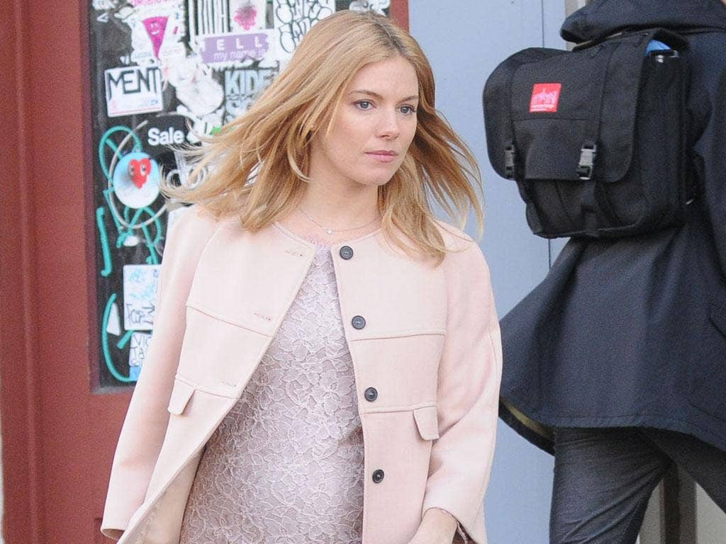 Mummy power: Where Sienna Miller leads, others will follow