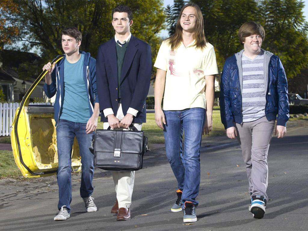 The cast of the US Inbetweeners