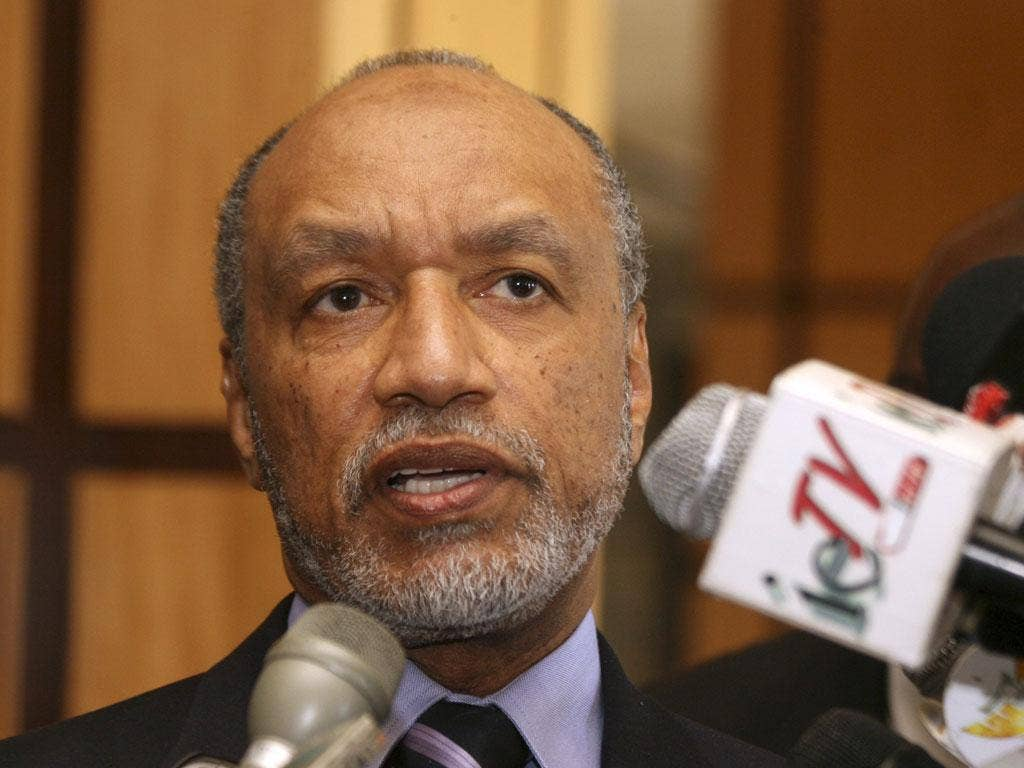 Mohamed bin Hammam is determined to disprove corruption allegations