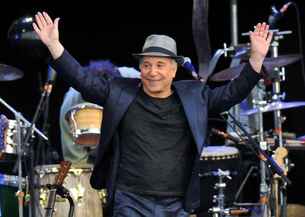 Saving grace: Paul Simon's voice isn't 'faultless', but his capacity as an emotional performer is as strong as ever