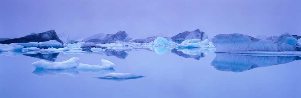 Something rather than nothing?: Okulsarlon glacial lagoon in Iceland