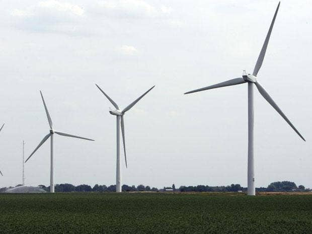 George Osborne is offering to drop his calls for deeper cuts in subsidies for onshore wind farms