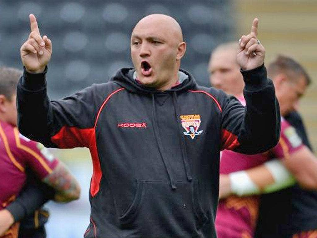 Paul Anderson: Huddersfield's new coach suffered a debut defeat at home to Wakefield