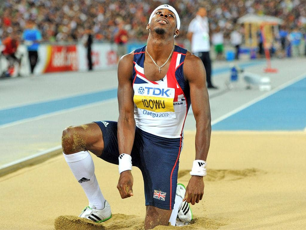 'The goal is still to come away with a gold,' says Phillips Idowu