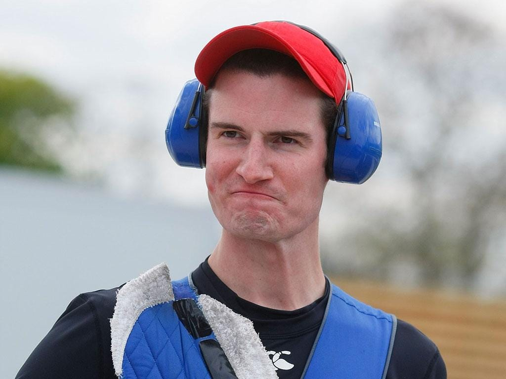 Peter Wilson is Team GB's greatest shooting medal hope