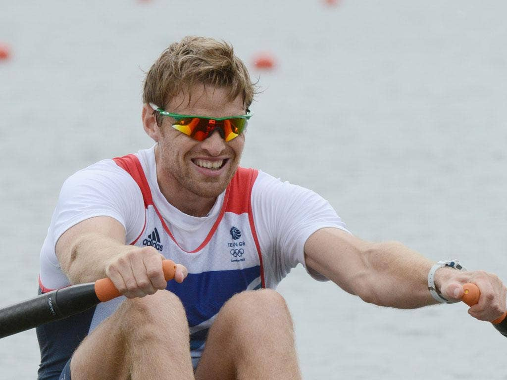 Alan Campbell is looking to go for gold