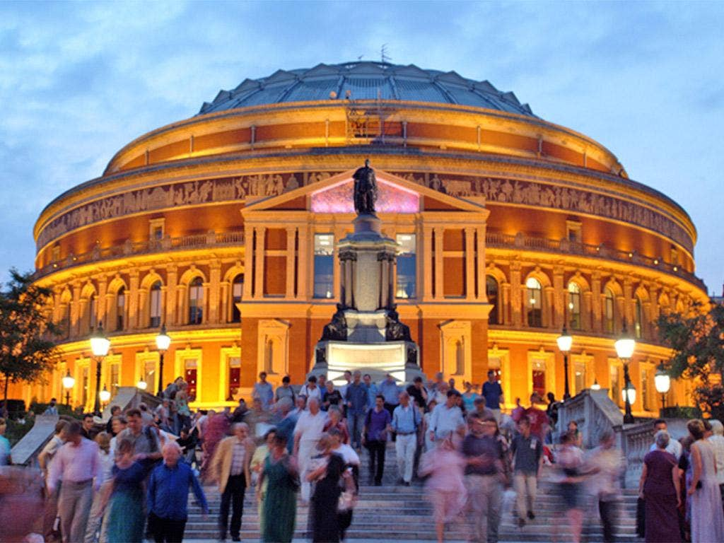 The BBC Proms at the Royal Albert Hall