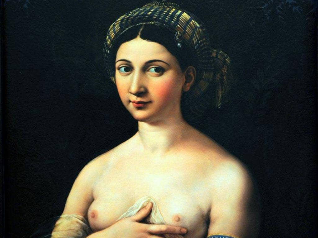 Solo satisfaction: Raphael's 'La Fornarina'