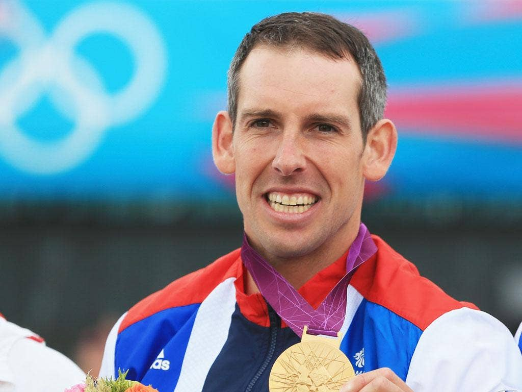Gold-winning medallist Tim Baillie tried to sing the national anthem when he was presented with his medal but did not learn the words for fear of jinxing the result