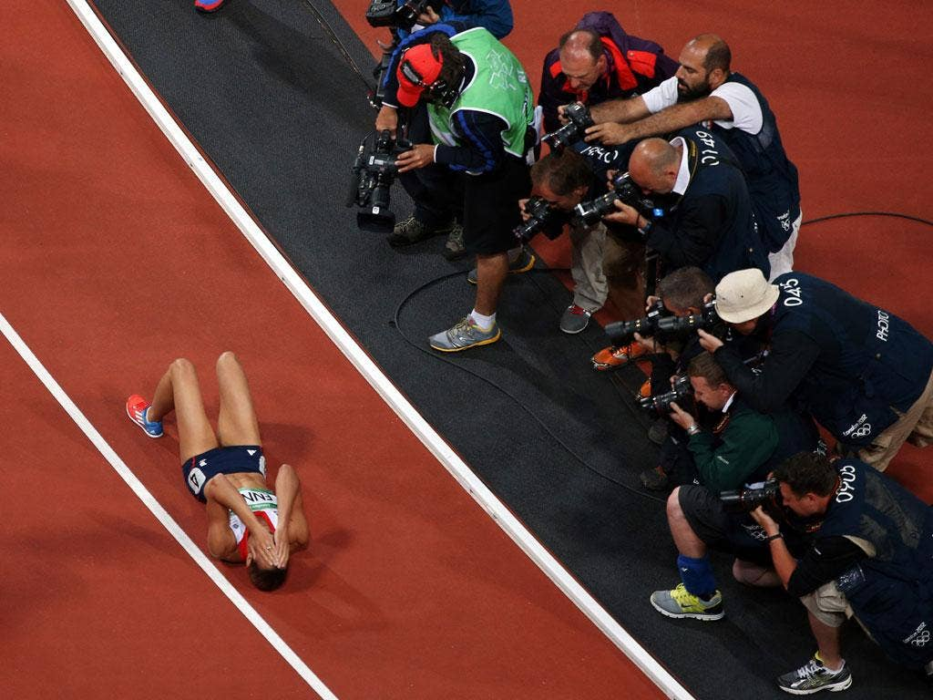 Seventh Heaven: All eyes on Ennis after winning the 800m, her final heptathlon event