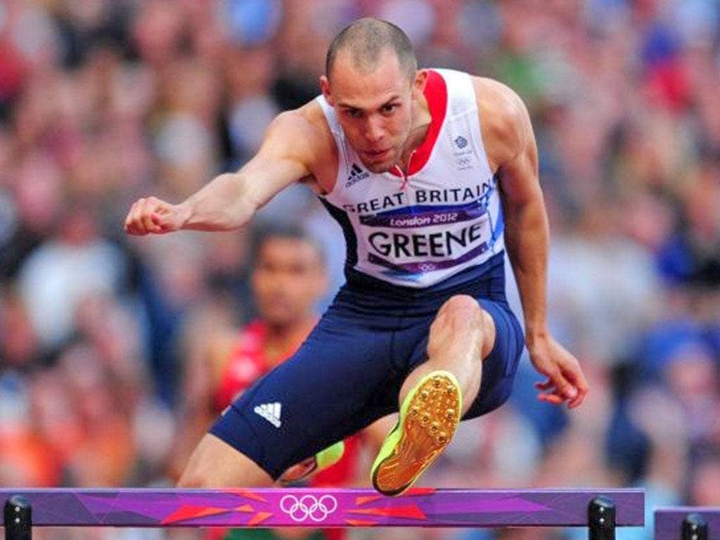 'That's no way to perform if you're world champion. I should do better' said Dai Greene