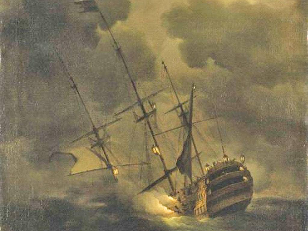 HMS Victory, the 1737 predecessor to Nelson's flagship, was lost with all hands in 1744 in the English Channel. Armed with 100 bronze cannon, it was found in 2008, damaged by trawlers and still at risk