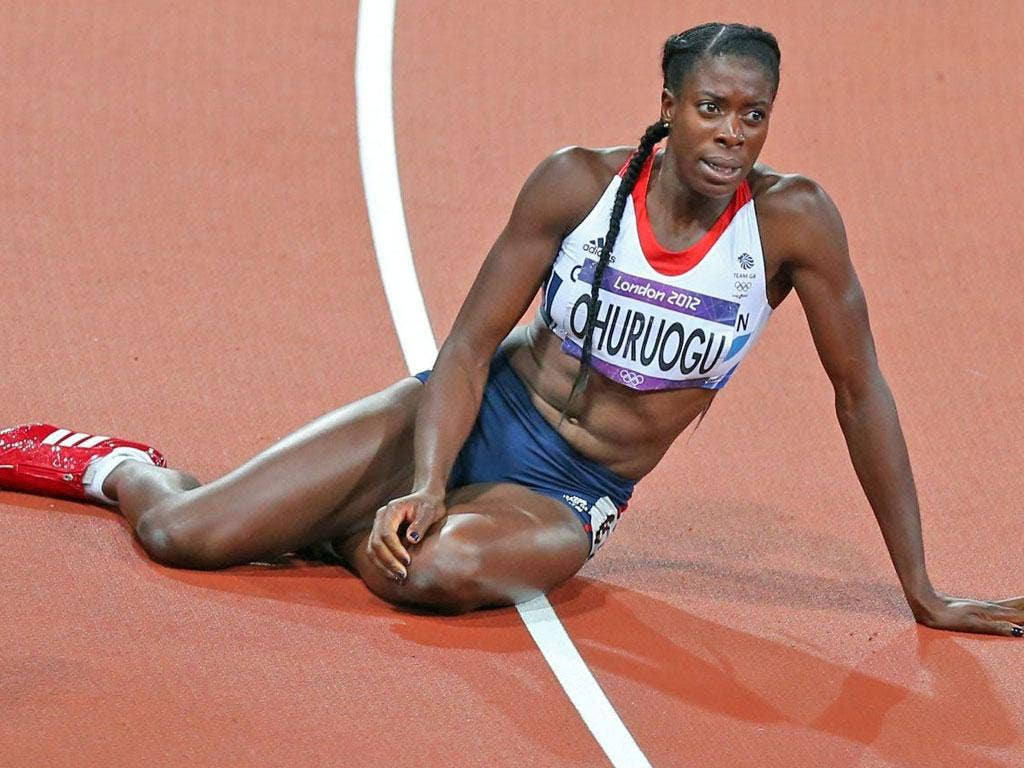 Christine Ohuruogu comes to terms with silver last night