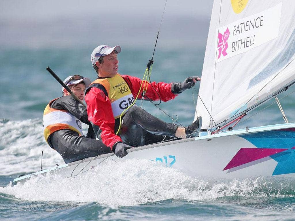 Luke Patience and Stuart Bithell are still vying for gold