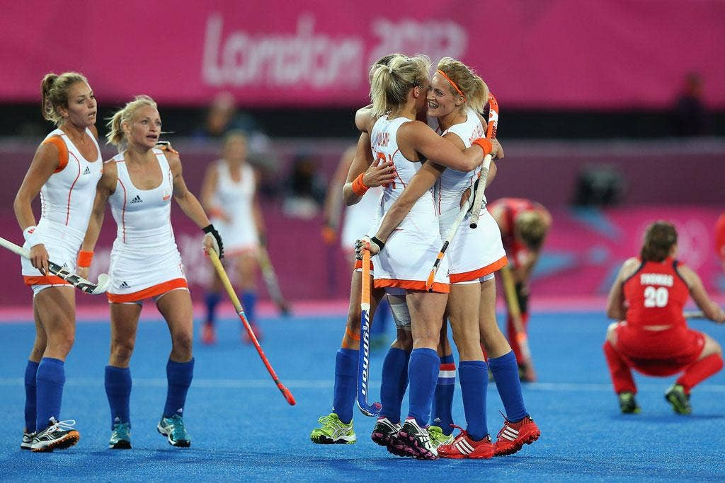 The Netherlands topped the pool as they extended their record to five straight wins