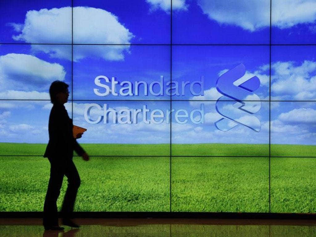 Standard Chartered has been accused of laundering $250bn from Iran