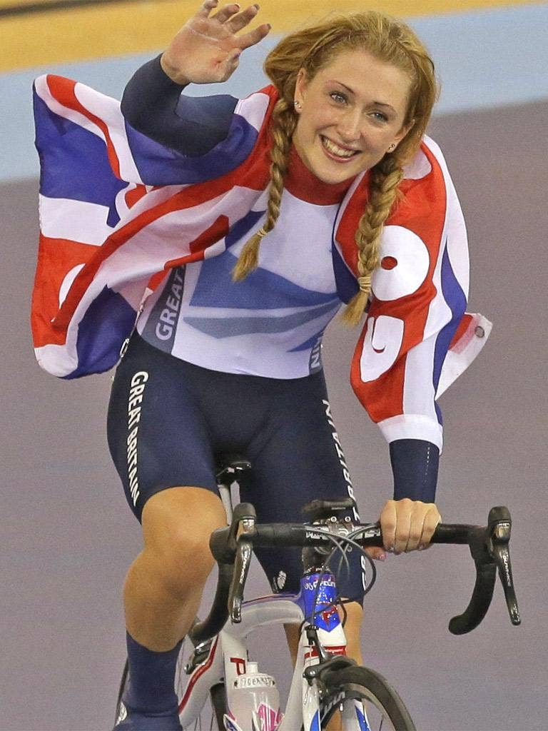 Trott's formidable time-trialling capacities served her to perfection
