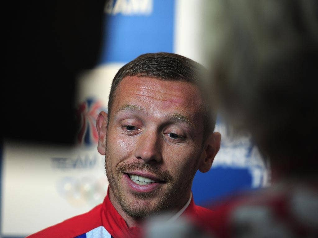 Craig Bellamy has been on Olympics duty