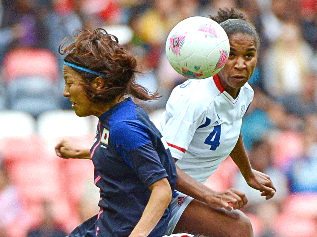 Women's football is played and supported with refreshing amiability