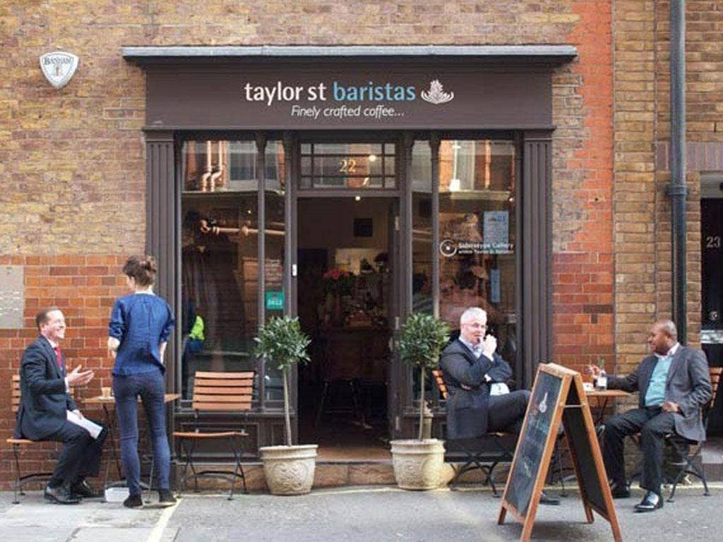 Liquid assets: Tesco has teamed up with Taylor St coffee shops to launch a chain in which it has a 49 per cent stake