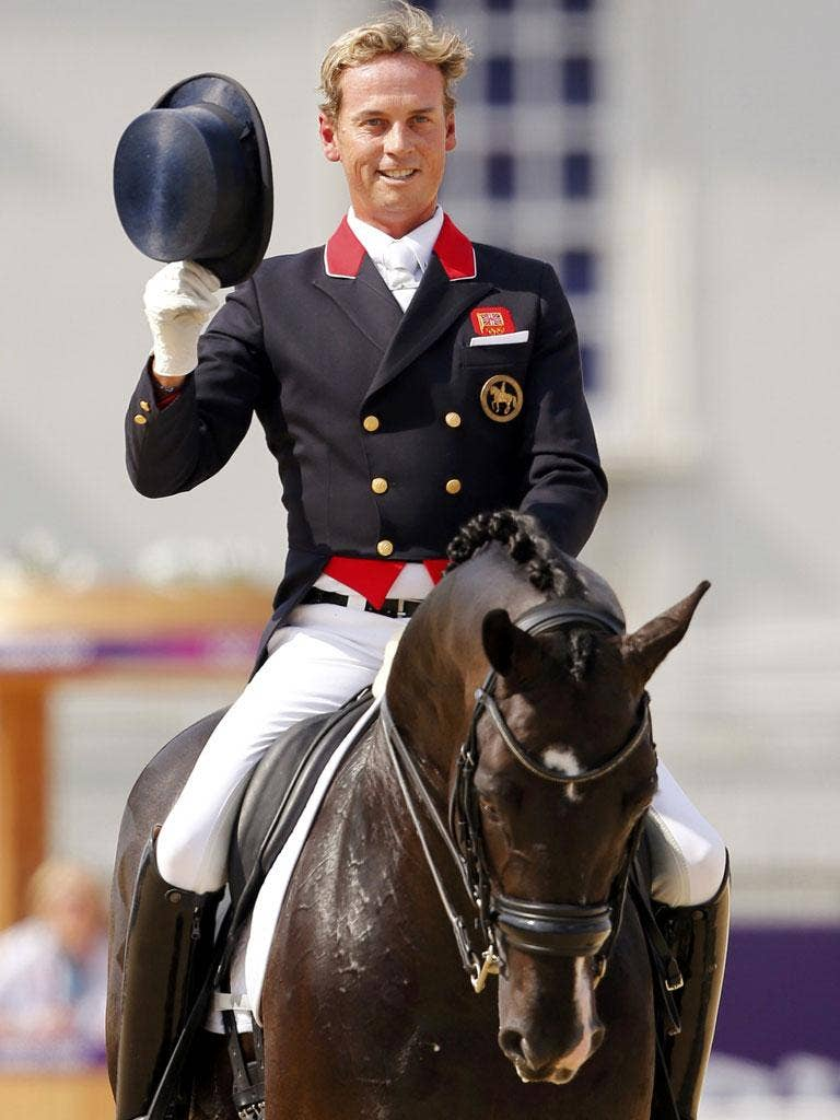 When Carl Hester, pictured, the dressage rider, won a gold medal this week, he may have been the first openly gay athlete to win a medal at the summer Olympics