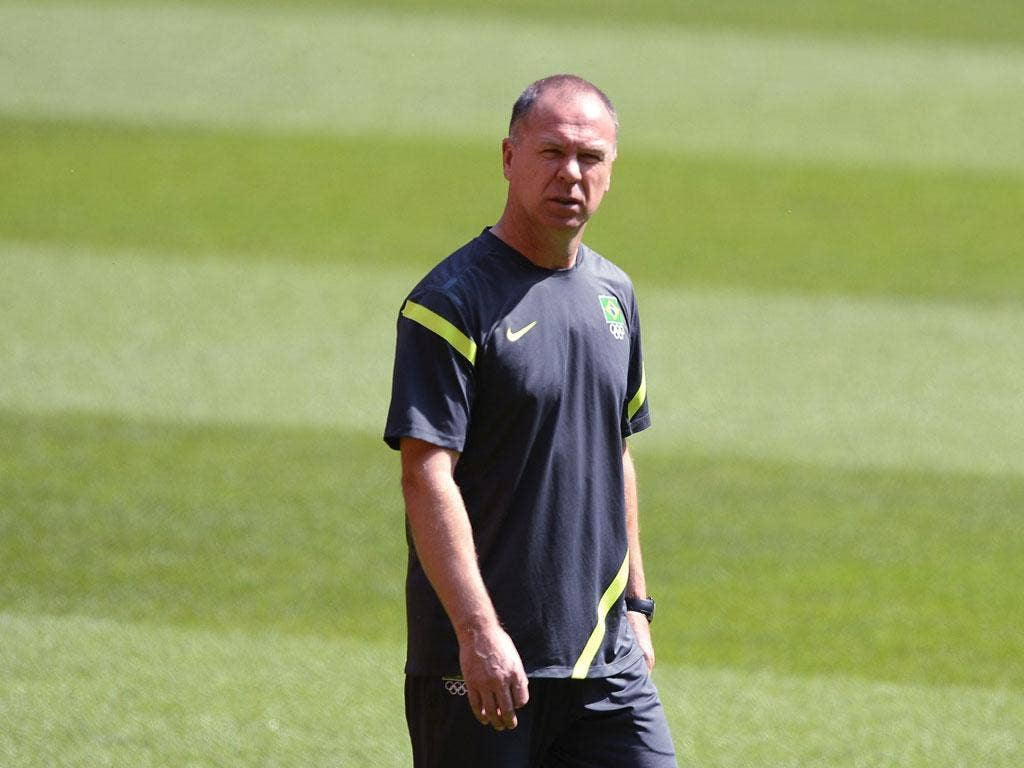The coach Mano Menezes carries the hopes of a nation as Brazil go for their first football gold